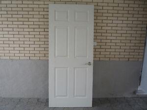 Lot de portes intérieures usagées