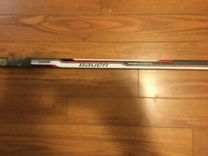 Bauer hockey stick and skates