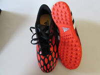 Adidas soccer shoes.