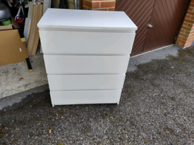 Ikea Malm Chests of 4 drawers