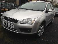 Ford Focus 1.6 ( 100ps ) auto 2007.5MY Ghia auto 5 speed law mailage