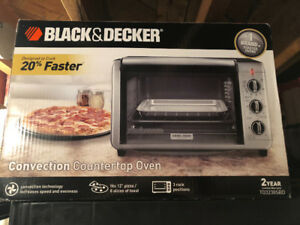 Black Decker Convection Oven. New.
