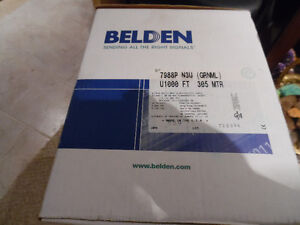 Belden 7988P N3U U1000 Multi-Conductor  4-Pair UTP Cable RGB Kitchener / Waterloo Kitchener Area image 1