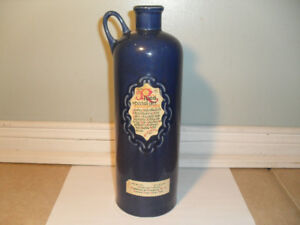 Vintage Rives Special Gin bottle Made in Spain