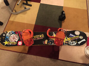 Snowboard with bindings and boots for sale