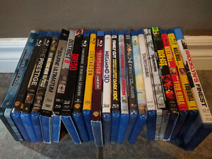 Lot of Blu-Ray DVDs - Prices in Description