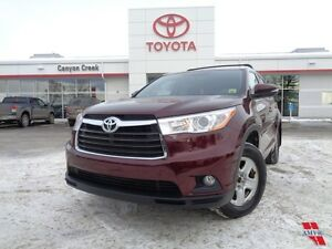 2015 Toyota Highlander XLE AWD ONLY 34721KMS TOYOTA CERTIFIED