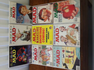 Mad Magazines 1978-82 Collection of 21 Issues
