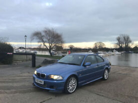 2002 BMW 330 3.0 Ci Auto Clubsport 2 Door Coupe Blue LTD Edition