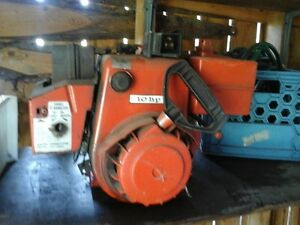 10 horse snowblower motor, Run well