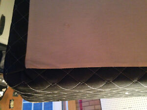 Mint condition queen size box spring Cambridge Kitchener Area image 1