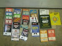 CANADIAN SERVICE DATA BOOKS