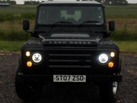 Land Rover 110 Defender 2.4TDi County Estate 1 OWNER Low Miles 80K FSH 10 Stamps