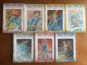 Nausicaa of the Valley Of the Wind Comics