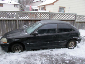 1998 HONDA CIVIC STANDARD for PARTS... Make an offer..