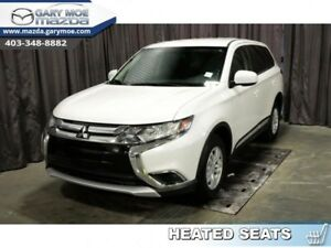 2018 Mitsubishi Outlander ES  - Bluetooth -  Heated Seats - $175