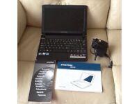 E machine notebook