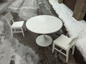 Two Chairs for sale - Table is sold.