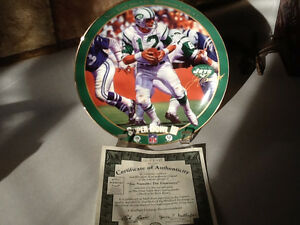 1995 BRADFORD EXCHANGE JOE NAMATH SUPERBOWL III PLATE London Ontario image 2