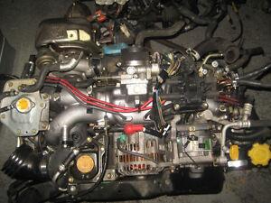 02 05 SUBARU IMPREZA WRX EJ205 2.0L DOHC TURBO ENGINE JDM EJ20