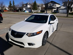 Acura tsx a spec 6 speed manual 4 cylinders