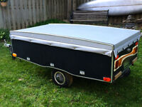 2004 ESY Tow Pop Up Tent Trailer for Motorcycles/Small Cars