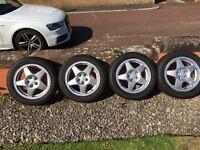 Volkswagen SPEEDLINE Alloy Wheels MINT!!