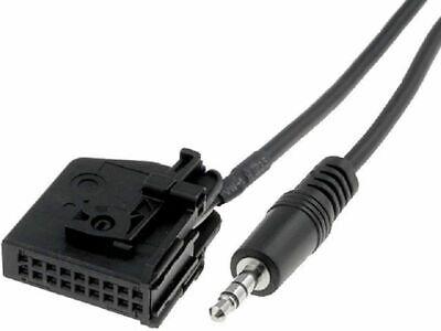 AUX IN Adapter Kabel für Mercedes Comand 2.0 iPhone Mp3 Interface TV Handy W163