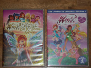 WINX DVDS $5 FOR BOTH