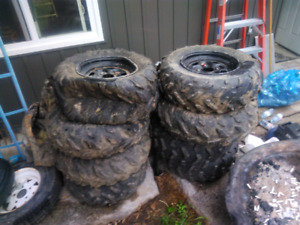 Yamaha tires and rims