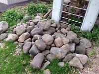 Decorative stone and lava stone