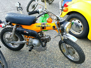 1971 ST90 HONDA.. the unicorn of collectables
