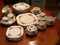 Wedswood Dishes made in England  with 7 place setting