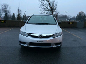 **2010 Honda Civic LX Safety and E-tested **