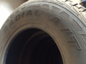 265/70R17 Tires FOR SALE !!