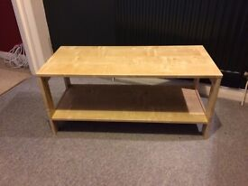 Coffee Table (Ikea, beech effect)