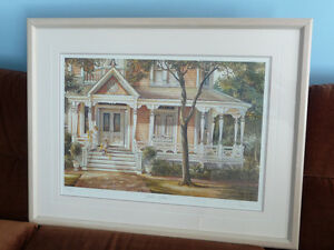 "Framed Limited Edition Print - ""Yellow Ribbons"" - Trisha Romance"