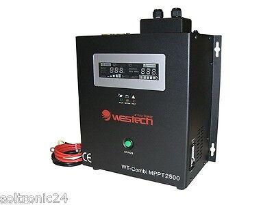1800W Sinus Wechselrichter, MPPT Regler, WT-Combi MPPT-2500, 1800W-24VDC, USV