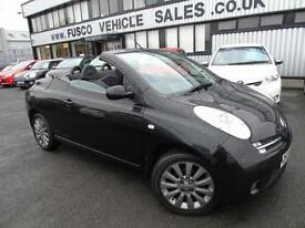 2008 Nissan Micra C+C 1.6 CHIC - Black - Platinum Warranty!