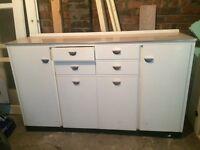 Mid Century Kitchen Bench Whiteleaf