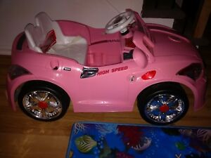 Audi Style 12v Kids Ride on Car with RC - Pink