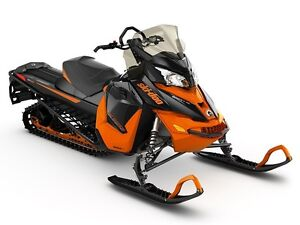 2016 Ski-Doo Renegade Backcountry Rotax 800R E-TEC Black/Race Or
