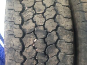 LT 245-70R-17 Summer Tires