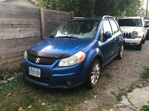 2007 Suzuki SX4 AWD Manual AS IS
