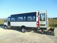 2009 IVECO 45C15 DAILY 16 SEAT WHEELCHAIR ACCESSIBLE DISABLED MOBILITY MINIBUS