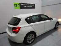 BMW 1 SERIES 2.0 118D SE 5D 141 BHP 1 OWNER IN ALPINE WHITE