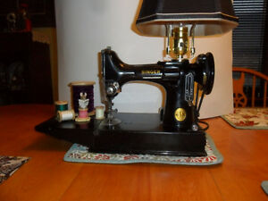 Singer featherweight table lamp
