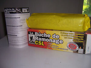 Bûche de ramonage CSL / CSL Chimney Sweep Log
