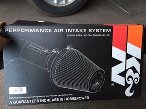 K&N intake for f-150