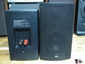 Boston SubSat 6 Series II - speaker set